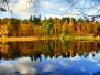 Retzbergweiher im Herbst