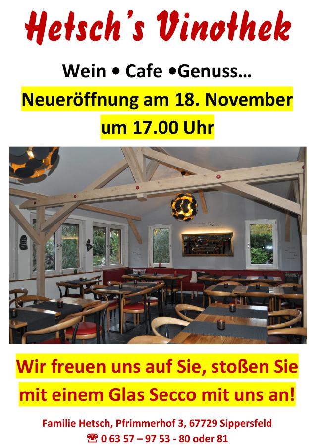 Neuer ffnung hetsch s vinothek ortsgemeinde sippersfeld - Fliesen blaum ...