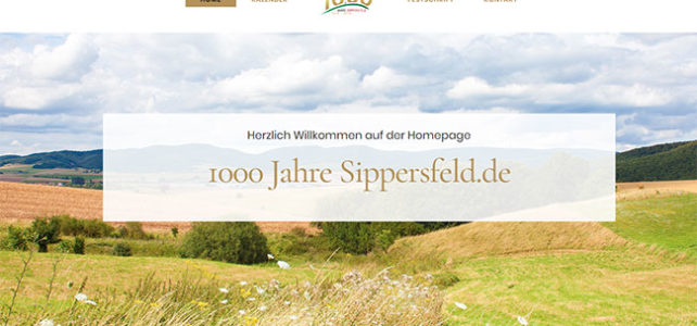 Homepage 1000 Jahre Sippersfeld