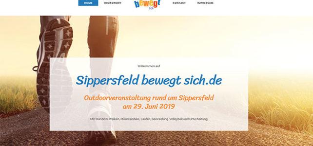 Homepage Sippersfeld bewegt sich